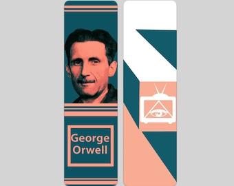 George Orwell Bookmark