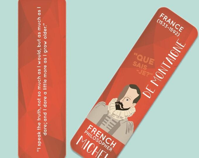 Michel de Montaigne Indestructible  Bookmark