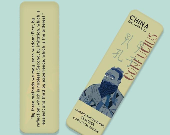 Confucius Indestructible Bookmark