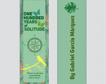 One Hundred Years of Solitude by Gabriel Garcia Marquez Bookmark