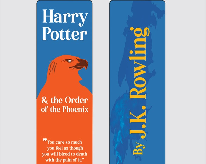 Harry Potter and the Order of Phoenix - J.K Rowling Bookmark