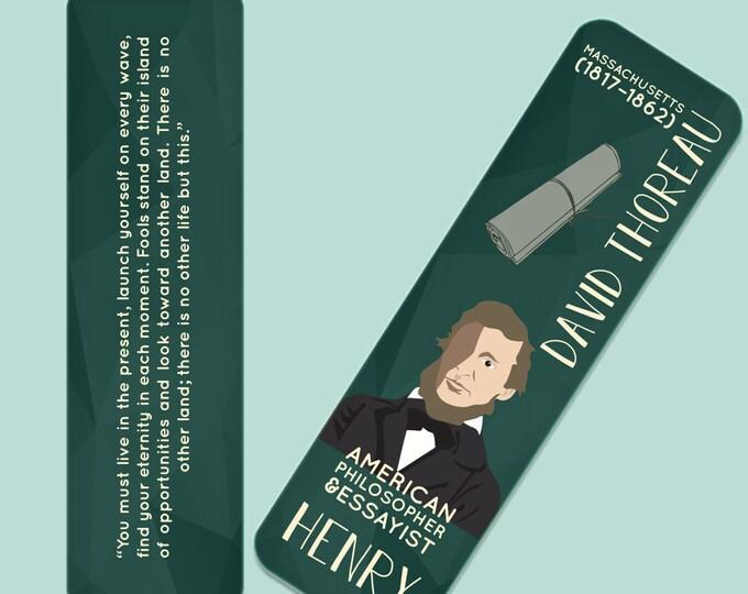 Henry David Thoreau Indestructible  Bookmark