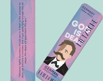Friedrich Nietzsche  Indestructible  Bookmark