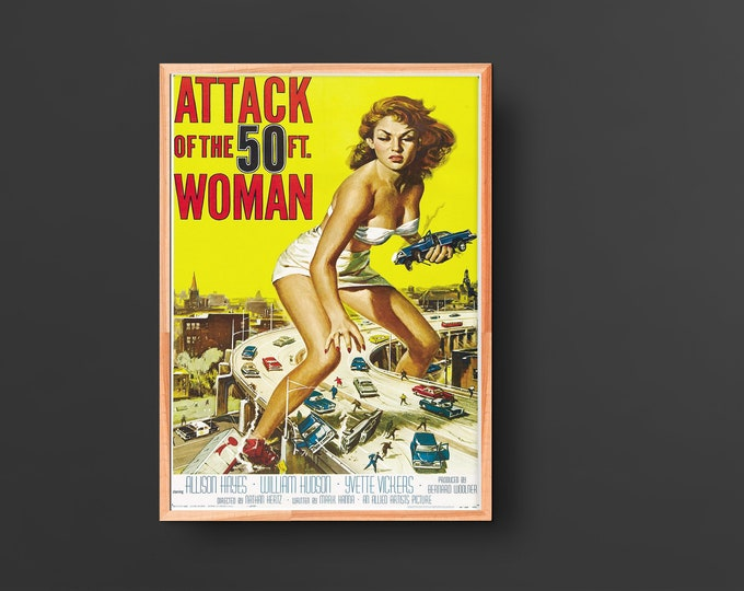 Attack of the 50 Foot Woman Movie Poster (1958)