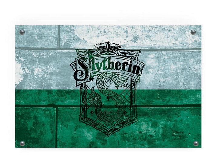 Slytherin House Flag Wall Decor
