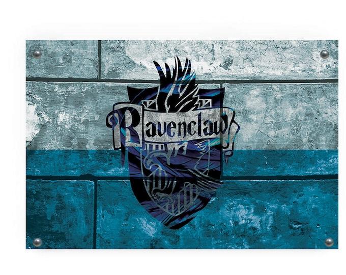 Ravenclaw House Flag Wall Decor