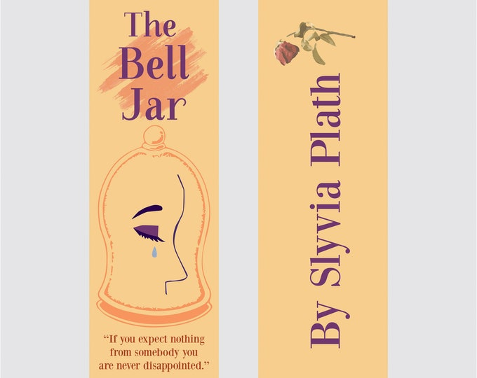 The Bell Jar - Silvia Plath Bookmark