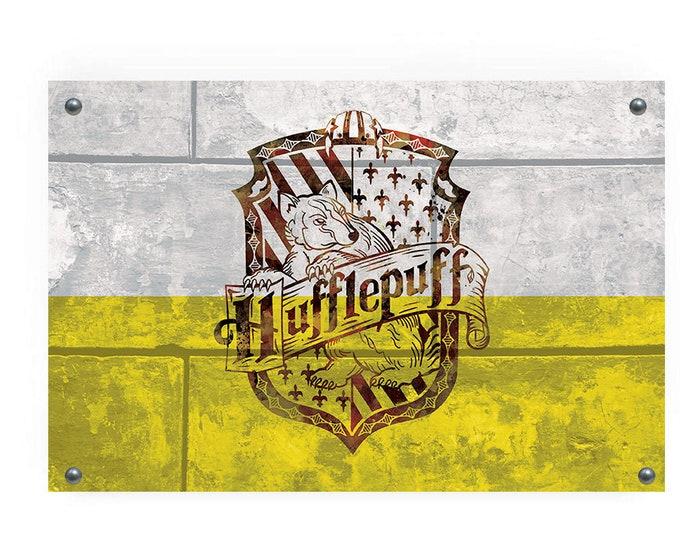 Hufflepuff House Flag Wall Decor
