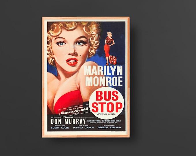 Bus Stop Movie Poster (1956)