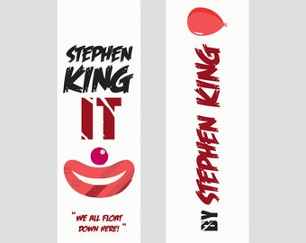 IT- Stephen King Bookmark