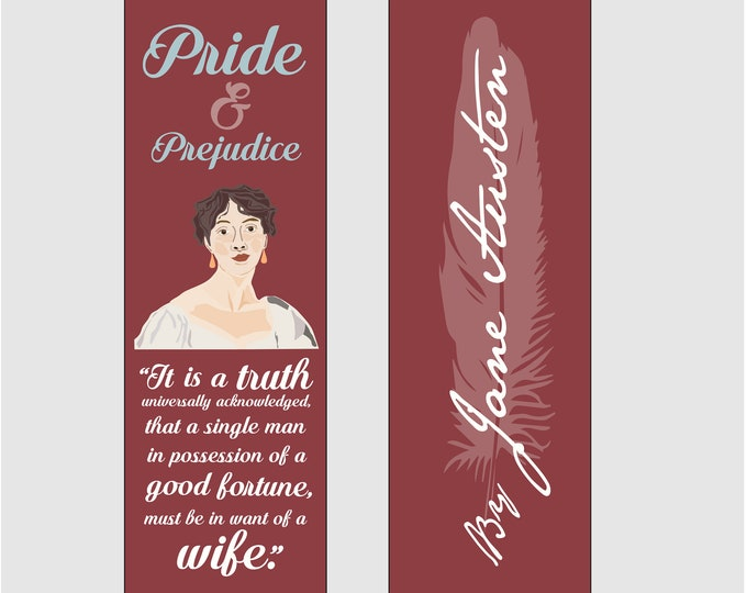 Pride & Prejudice by Jane Austen Bookmark