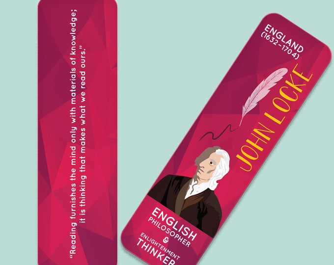 John Locke Indestructible  Bookmark