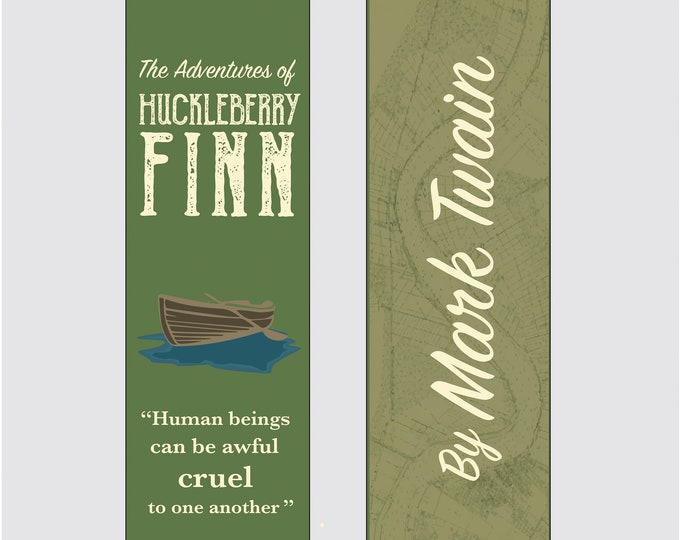The Adventures of Huckleberry Finn by Mark Twain Bookmark