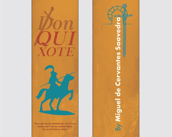 Don Quixote by Miguel de Cervantes Saavedra Bookmark