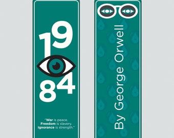 George Orwell's 1984 Bookmark