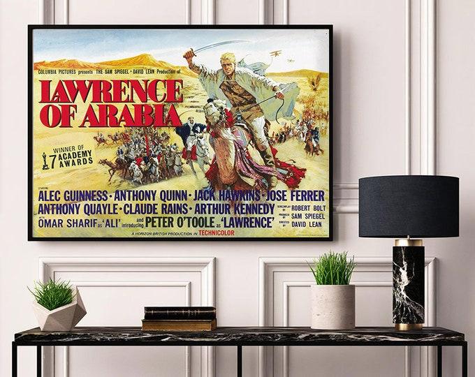 Lawrence of Arabia (1957) Vintage Movie Poster #2