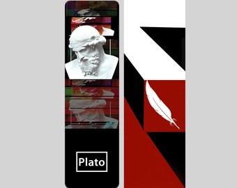 Plato Bookmark