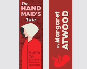 The Hand Maid's Tale - Margaret Atwood Bookmark