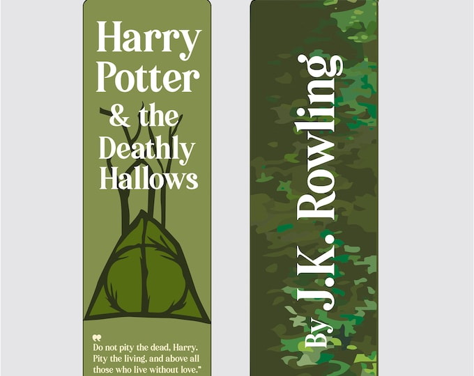 Harry Potter and the Deathly Hallows by J.K Rowling Bookmark