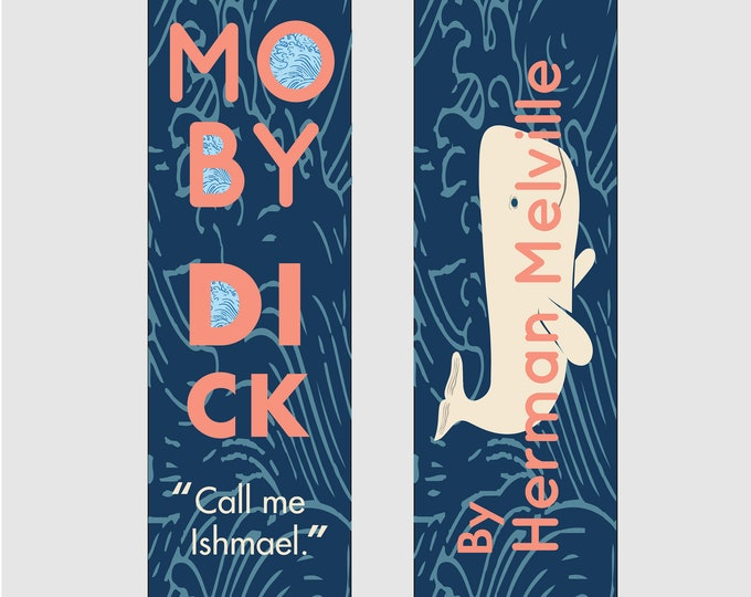 Moby Dick - Herman Melville Bookmark