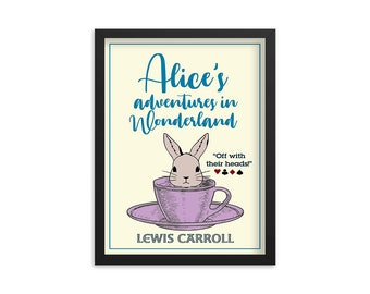 Alice in Wonderland - Lewis Carroll Book Poster
