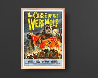 The Curse of the Werewolf (1961) Movie Poster