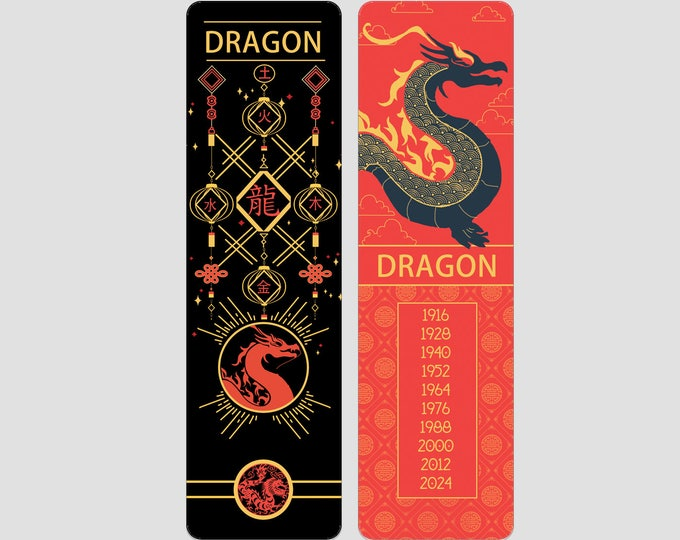 Dragon Chinese Zodiac Sign (Sheng Xiao)   Bookmark