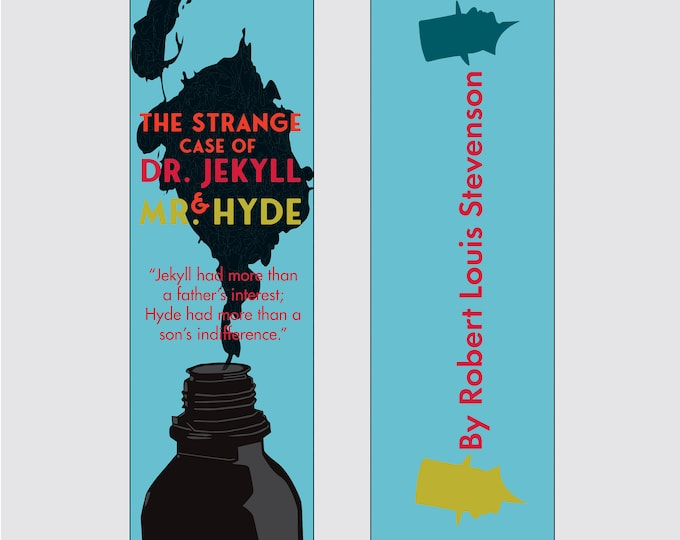 The Strange Case of Dr. Jekyll & Mr. Hyde by Robert Louis Stevenson Bookmark