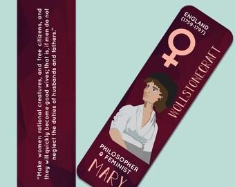 Mary Wollstonecraft Indestructible  Bookmark
