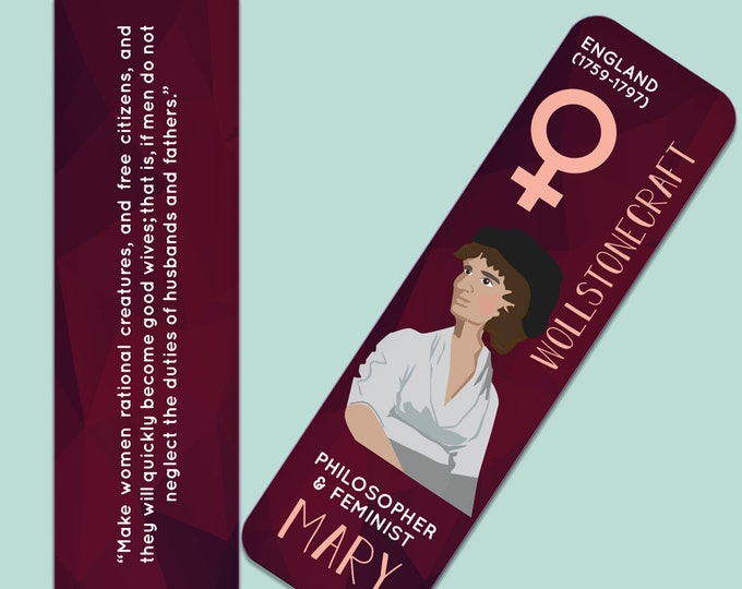 Mary Wollstonecraft Indestructible  Bookmark