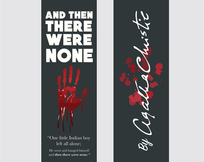 And Then There Were None - Agatha Christie Bookmark