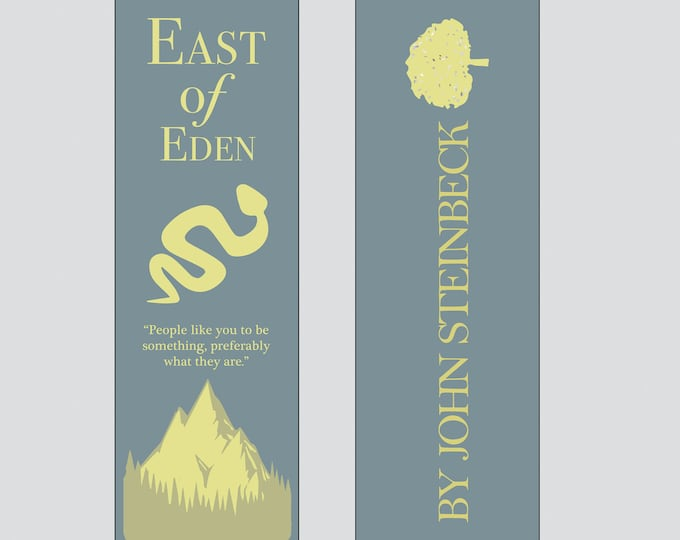 East of Eden by John Steinbeck Bookmark