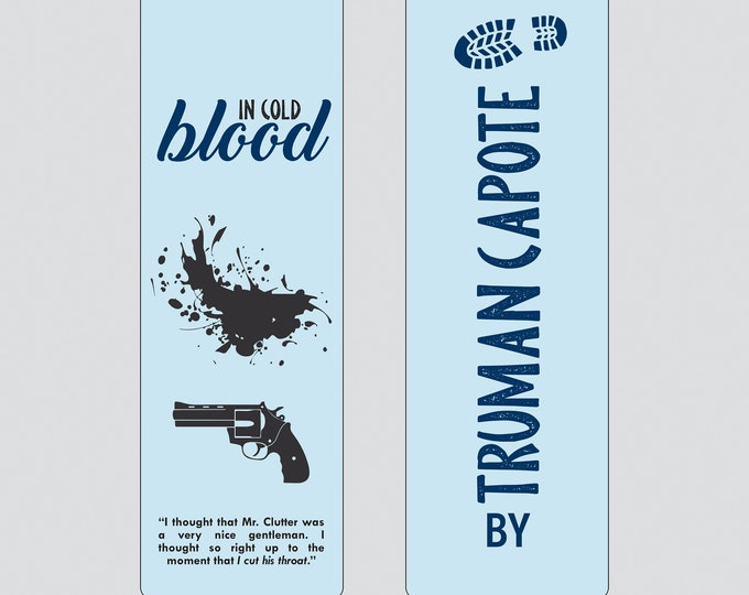 In Cold Blood by Truman Capote Bookmark