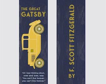 The Great Gatsby - F. Scott Fitzgerald Bookmark