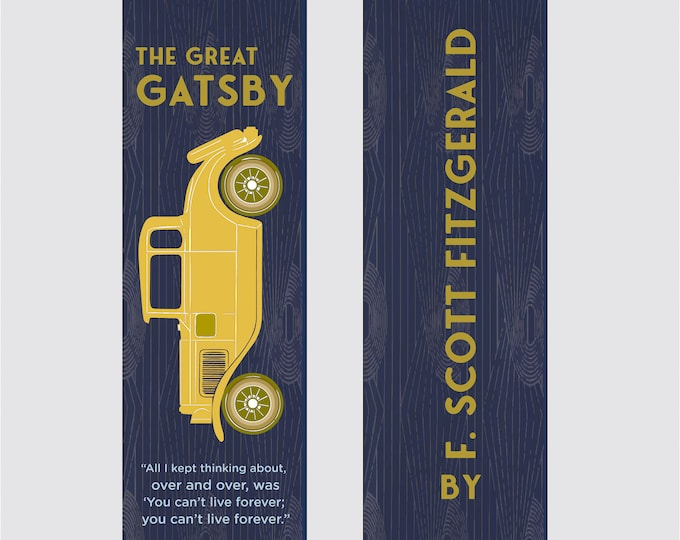 The Great Gatsby by F. Scott Fitzgerald Bookmark