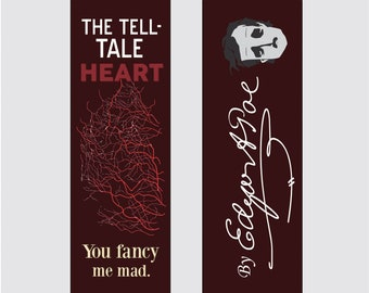 The Tell Tale Heart - Edgar Allan Poe Bookmark
