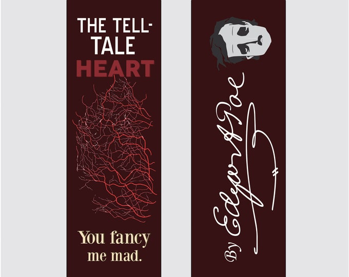 The Tell-Tale Heart by Edgar Allan Poe Bookmark