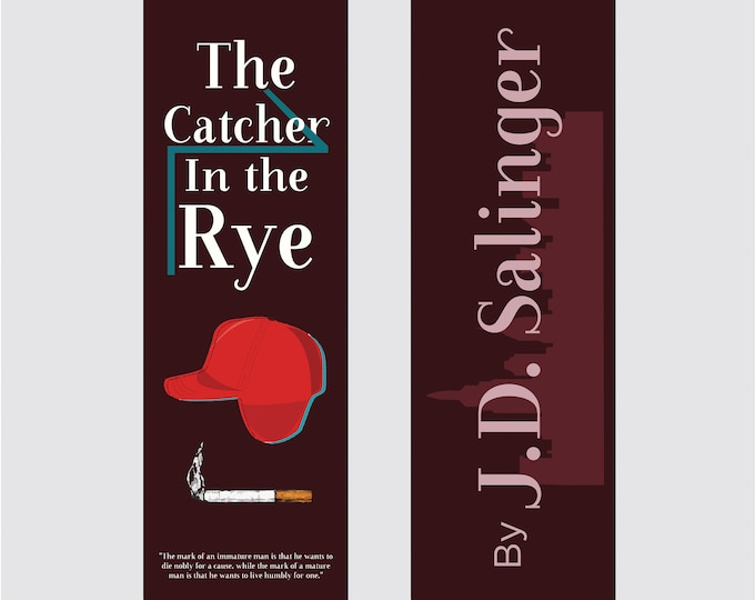 The Catcher in the Rye by J.D. Salinger Bookmark