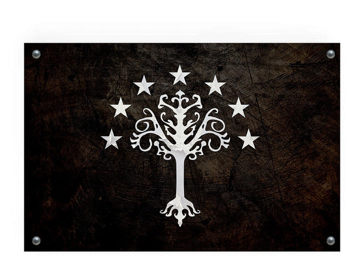 White Tree of Gondor (Lord of the Rings) Flag Wall Decor