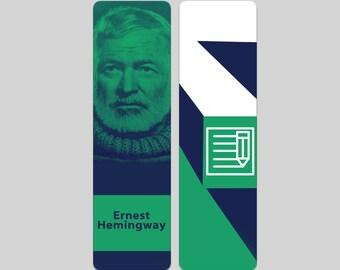 Ernest Hemingway Bookmark