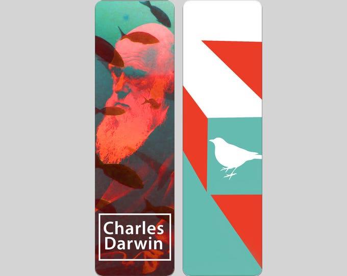 Charles Darwin Bookmark