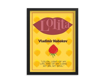Lolita by Vladimir Nabokov Book Poster