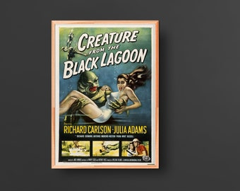 Creature from the Black Lagoon Movie Poster (1954)