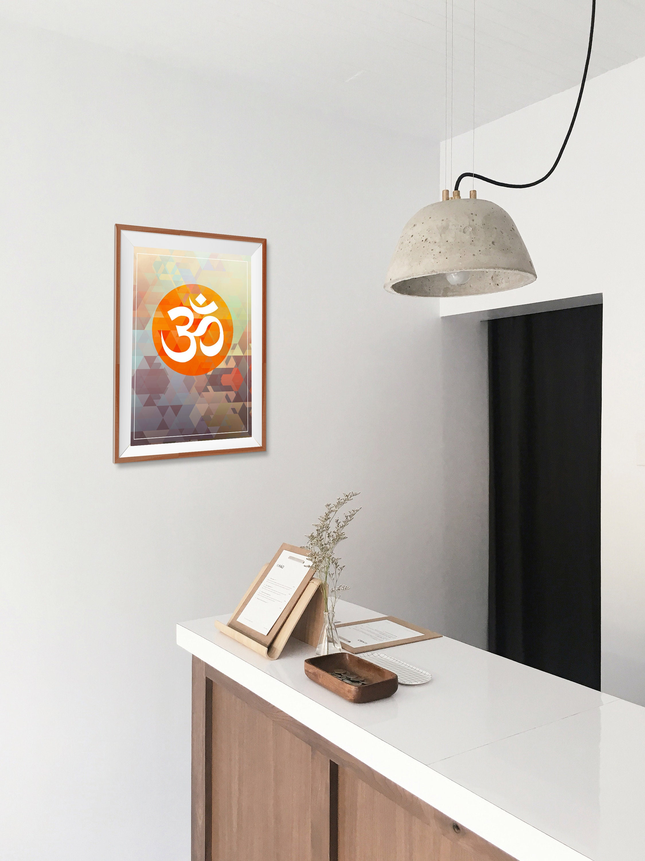 Om Yoga Home Decor Poster