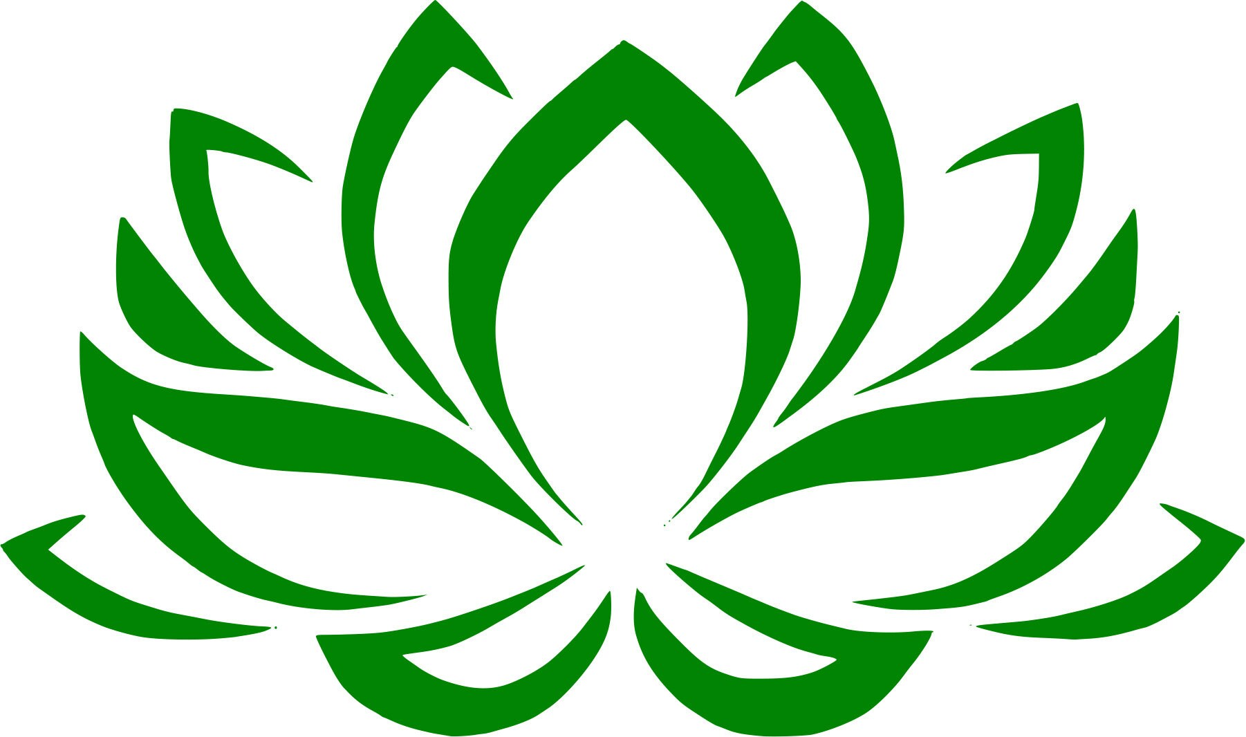 Lotus Flower Sticker Decal For Laptops Wall Decor Or Bumper Sticker