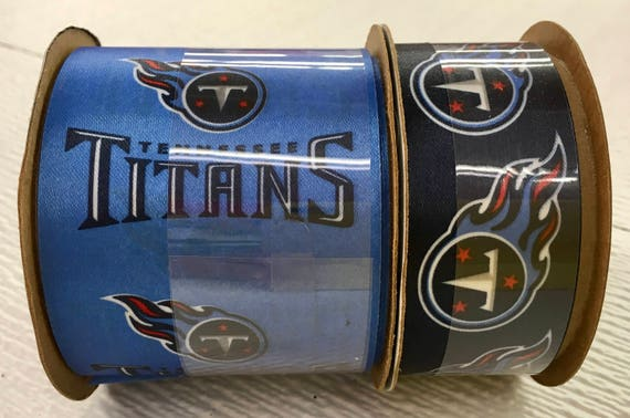 FREE SHIPPING 2 Piece Ribbon Set Tennessee Titans NFL   Etsy  hot sale