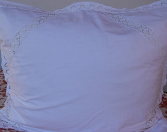 Lace pillow shams | Etsy