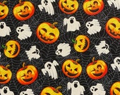 Pumpkins and Ghosts Halloween Cloth Mask