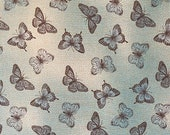 Butterflies on Blue Cloth Mask