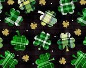 Plaid Shamrocks & Dots St. Patrick's Day Cloth Mask